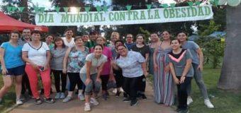 UNCAus salió a las calles a concientizar sobre la problemática de la obesidad