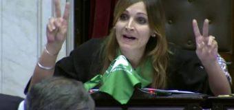Masin, la legisladora defensora del aborto, criticó a Macri por la anulación