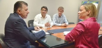 Quirós coordina acciones junto al equipo técnico del próximo Gobernador