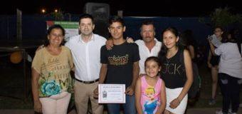 El municipio reconoció a los deportistas de las Escuelas Barriales y del Polideportivo