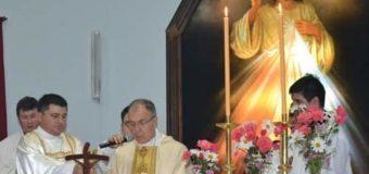 Monseñor Barbaro ordenó un diácono camino al sacerdocio