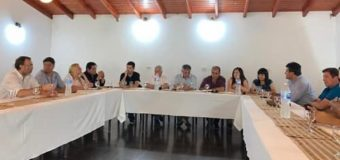 Polini, Machuca y Rodríguez, los voceros del Foro de Intendentes Radicales