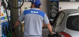 YPF aumenta los combustibles un 4,5% promedio