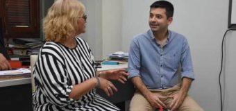 Bruno Cipolini se reunió con Lilian Zárate para coordinar acciones conjuntas