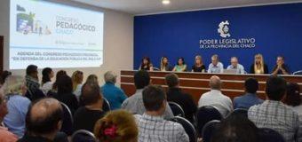 Educación y Diputados concretan reunión de la comisión organizadora del Congreso Pedagógico