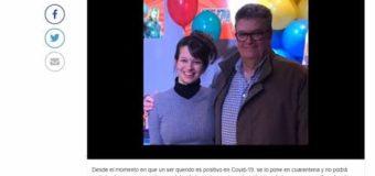 El fuerte mensaje de la hija de Cotichelli: «mi mejor consejo es que TE QUEDES en casa»