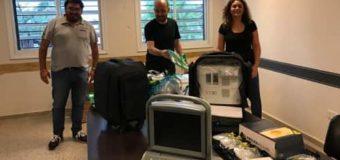Hospital 4 de Junio recibe equipos de bioseguridad y ecógrafos portátiles