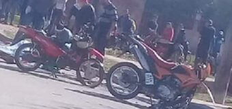 Falleció el menor implicado en el accidente de motos del barrio Sarmiento