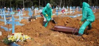 Brasil sumó 1.180 muertes en las últimas 24 horas