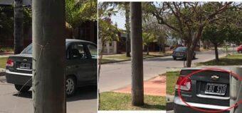 La Policía busca un Chevrolet Classic que chocó y se dió a la fuga