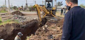 Siguen mejorando el sistema de drenaje agua pluvial