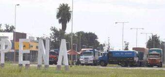 Transportistas en rutas 16 y 95 reclaman controles de camiones de afuera