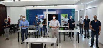 UNCAus presenta «la lámpara germicida + ozono» para el retorno seguro a clases