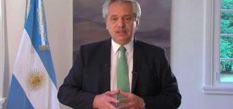 «Me siento el primer abanderado», dijo el Presidente AlbertoF al defender su posición abortista