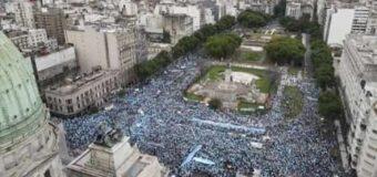 Los argentinos se unieron en las calles para decir sí a la vida