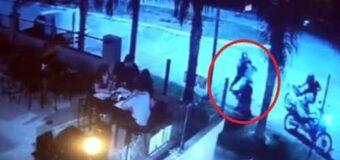 Otra vez la Caminera: Feroz maltrato y abuso contra un repartidor de comidas