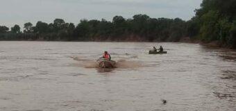 Rescatan los tres cuerpos desaparecidos en el Río Bermejo