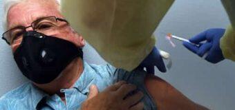 Sáenz Peña inició vacunación contra el covid-19 en el Club de Veteranos