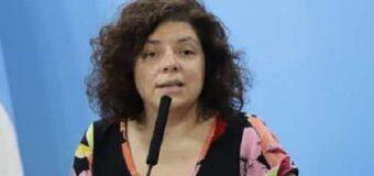 «Agosto será el mes de las segundas dosis», dijo la ministra Vizzotti