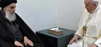 Un gesto hacia el Islam: Francisco se reunió con el gran ayatollah Ali al-Sistani