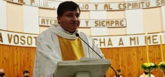 Luis ya es sacerdote! gozosa celebración anoche en Catedral