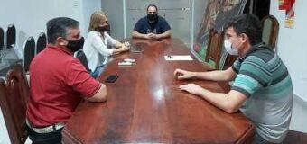 Concejales se reunieron con Villalonga y Polentarrutti