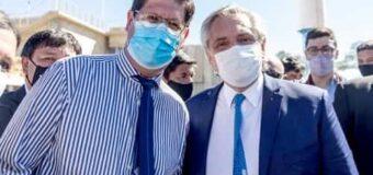Paredez acompañó al Presidente en su visita al Impenetrable