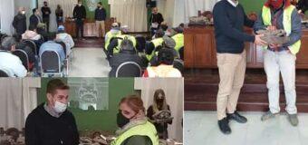 Cipolini entregó indumentaria para el personal municipal