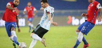 #CopaAmérica2021: Argentina empato con Chile en su debut