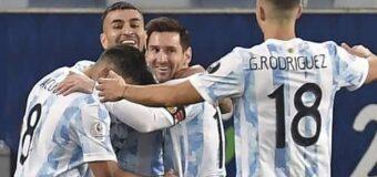 #CopaAmérica2021:  La Selección avanzó a Cuartos con buena actuación de Messi