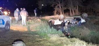 Joven de 35 años murió al volcar su camioneta en la ruta 89 tras chocar un caballo