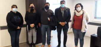 Navarrete y su Equipo de Gestión recibieron a la nueva ministra de Salud