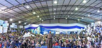 Milagro en Formosa: Gildo Insfrán presentó a sus candidatos ante una multitud