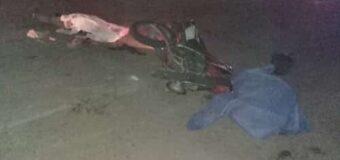 Mueren dos personas tras un choque entre motos