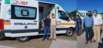 Más beneficios para el «4 de Junio»: Capitanich entregó ambulancia a Navarrete