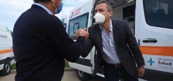 Tras 100 años, por primera vez, Napenay recibe una ambulancia 0 km