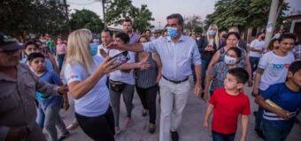 Capitanich inauguró pavimento, la Clínica Veterinaria y remodelaciones en la Comisaría 2da