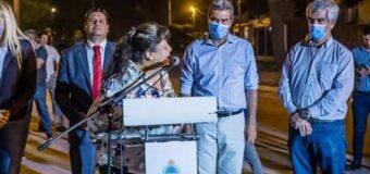 Capitanich junto al intendente Lovey inauguraron 15 cuadras de pavimento urbano